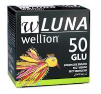 Тест-смужки Wellion Luna №50 (25+25) глюкоза, Австрія