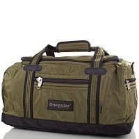 Спортивная крепкая сумка 35 л Onepolar WВ809 Green