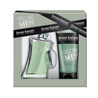 Чоловічий подарунковий набір BRUNO BANANI Not For Everybody Men туалетна вода 75ml + дезодорант 150ml ОРИГІНАЛ