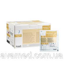 Рукавички Gammex PF Sensitive хірургічні латексні, тонкі, неопудрені, коричневого кольору