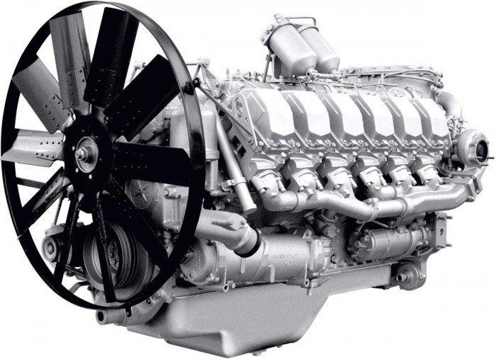 Двигун ЯМЗ 8501 (Тракт.-бульдозер Т 25.01,ТМ 25.01) в сб. без КПП і сцепл. (пр-во ЯМЗ)