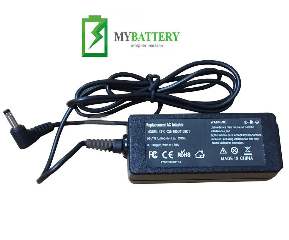 Зарядное устройство для ноутбука HP 493092-002 19V 1.58A 4.0 x 1.7mm OEM