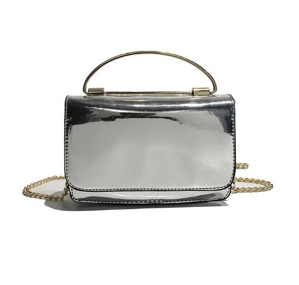 a424ac7a09cb Элегантная серебристая лаковая сумка , Сумки женские, Елегантна срібляста  лакова сумка - Интернет магазин Slando