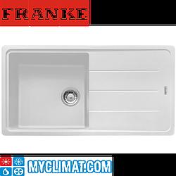 Franke Кухонная мойка FRANKE BASIS BFG 611-97 (белый)