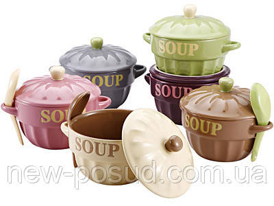 Миска суповая 3 предмета Bergner BG-1803003