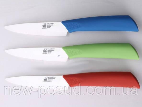Керамический нож для чистки овощей Wellberg WB 5439