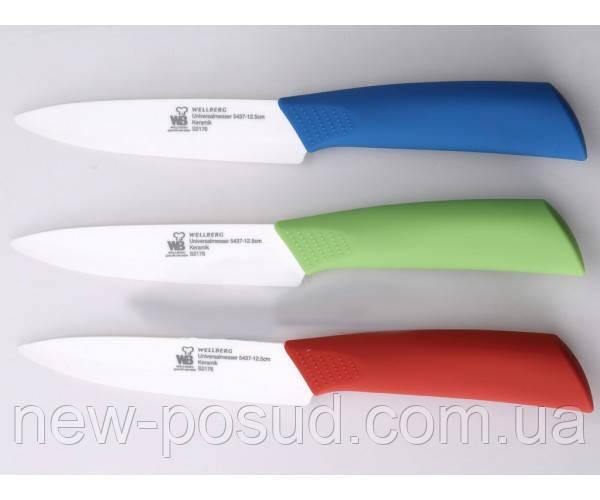 Нож универсальный керамический Wellberg WB 5437