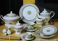 Столовый сервиз на 6 персон 57 предметов Dolce Vita DV 57006