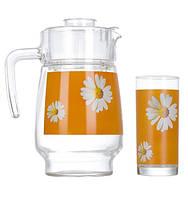 Набор для напитков Luminarc Paquerette Melon из 7 предметов (P4341)