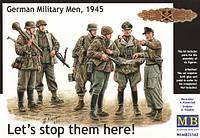 1:35 Немецкие солдаты, 1945 г., Master Box 35162;[UA]:1:35 Немецкие солдаты, 1945 г., Master Box 35162