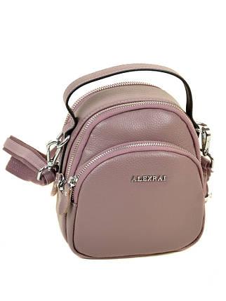 Сумка Женская Клатч кожа ALEX RAI 03-1 3905 pink, фото 2