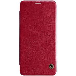Чохол-книжка Nillkin для Samsung Galaxy A7 (2018) Qin ser. З кишенькою Червоний, фото 2