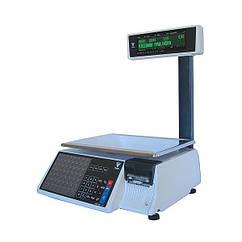 Весы с печатью этикеток DIGI SM 100CS P Plus