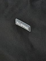 Дорожная Сумка на колесах нейлон FILIPPINI 2/1 601 black, фото 2