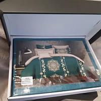 Постельное белье Suit series в подарочной упаковке Евро