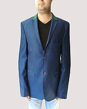 Пиджак мужской Oscar Fur 3 Синий