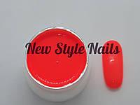 Гель-краска для ногтей UK.Nail №12 цвет кислотно-оранжевый 7 грамм