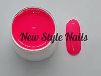 Гель-краска для ногтей UK.Nail №13 цвет кислотно-розовый 7 грамм