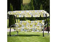 Качель садовая Parma A080-12PB ГхДхВ(132х209х156), 350кг, 4х местная, раскладная