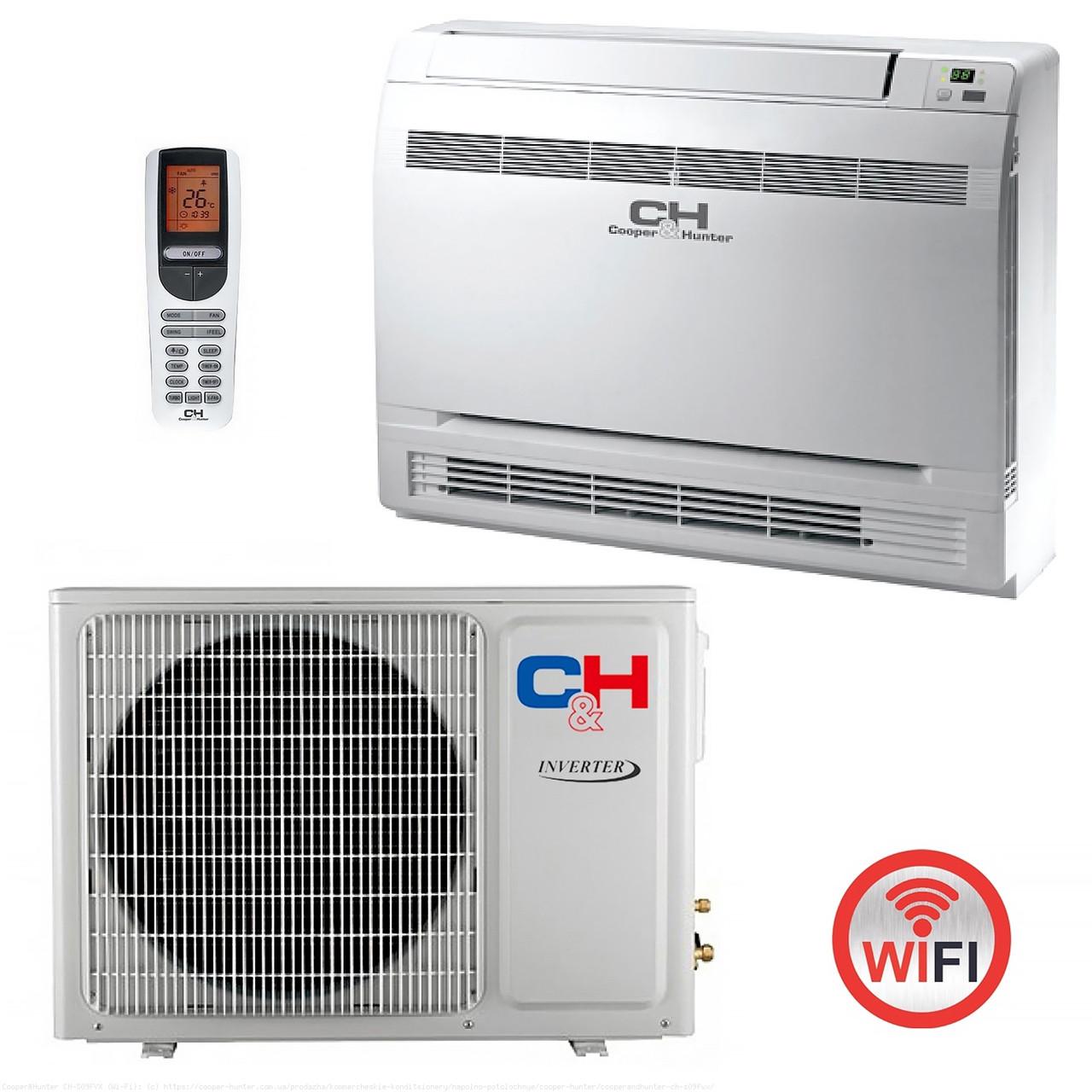 Кондиционер консольный (инверторный) напольно-потолочный Cooper&Hunter CH-S12FVX (Wi-Fi)