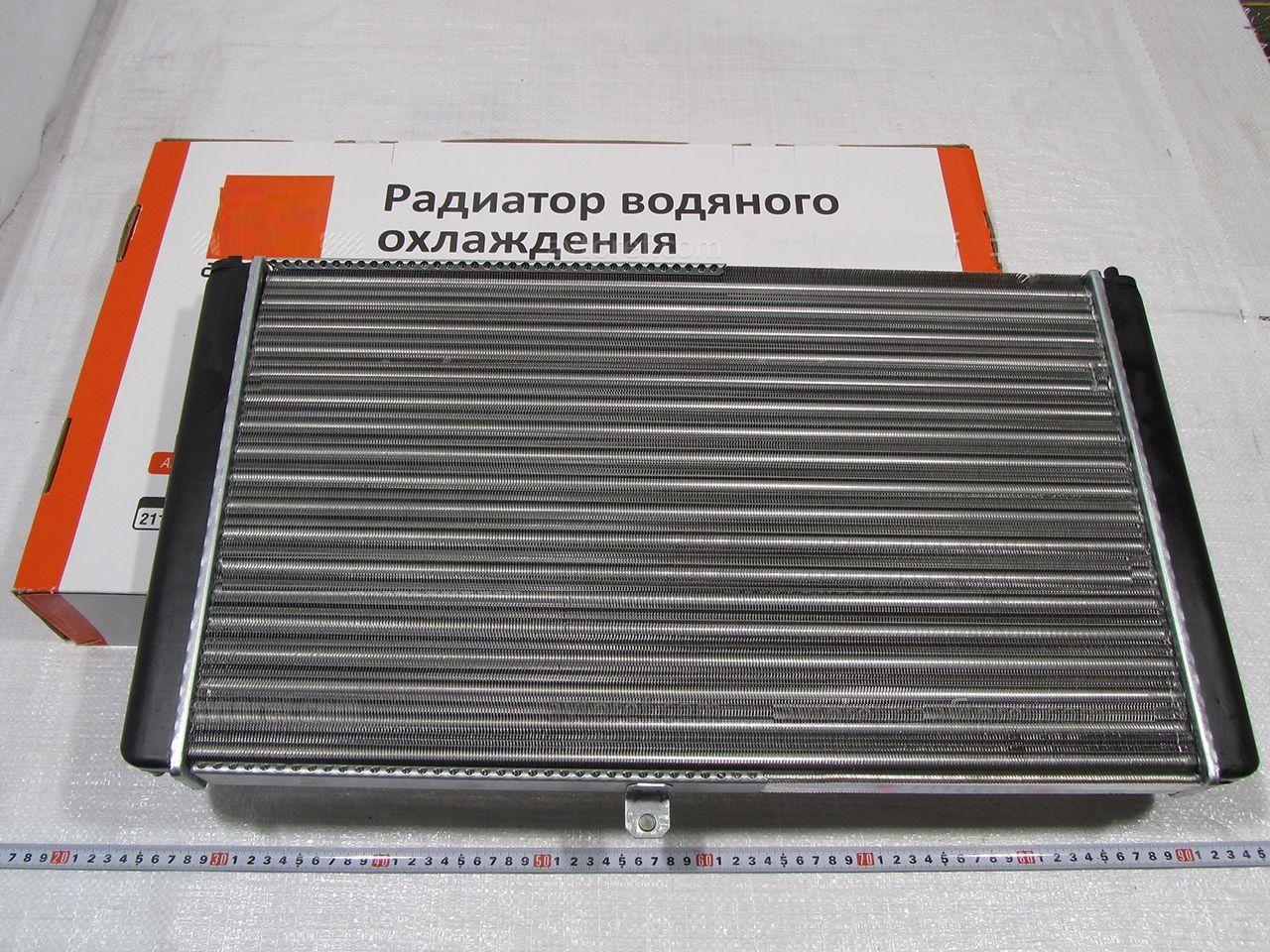 Радіатор вод. охо. ВАЗ 2110,-11,-12 (інж) (вир-во ДААЗ), 21120-130101210