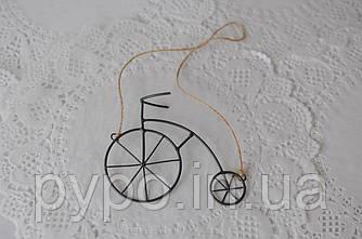 Подвеска Fibona Велосипед малый 12х10х3 см.