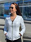 Куртка Женская, Цвет - Белый  017ДЛ, фото 3