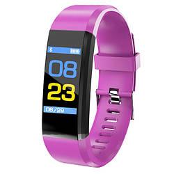 Фитнес браслет Smart Band BANGWEI ID115 Purple