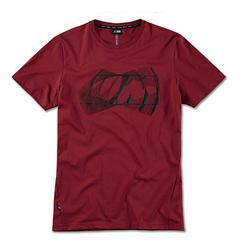Оригинальная мужская футболка BMW M Logo T-Shirt, Men, Burgundy, артикул 80142463080
