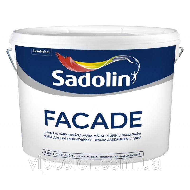 Sadolin FACADE 5 л краска для минеральных фасадов Белая