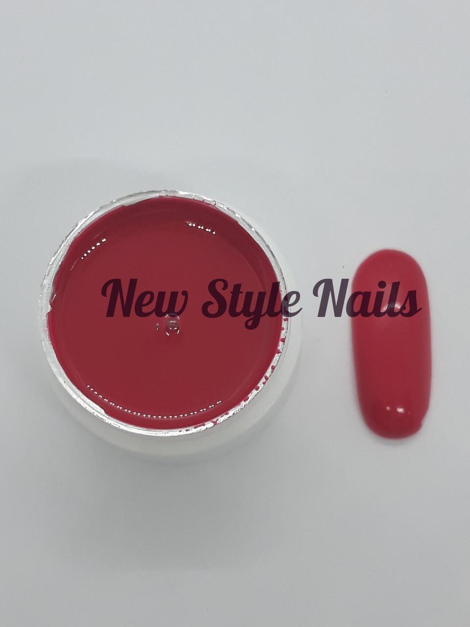 Гель-краска для ногтей UK.Nail №14 цвет красный 7 грамм