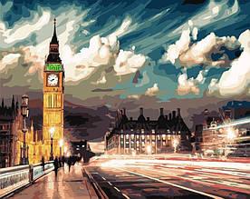 Картина по номерам Сумерки над Лондоном