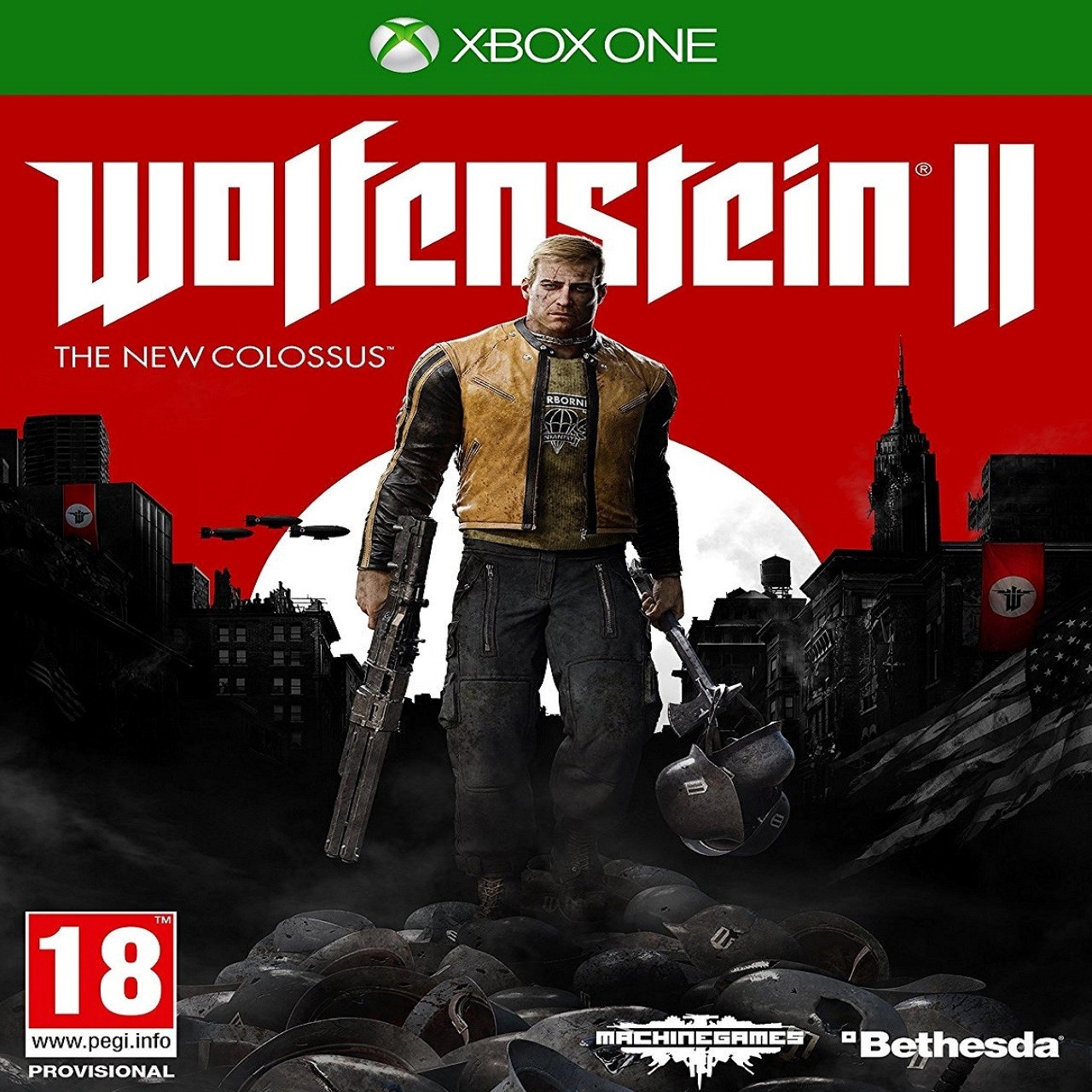 Wolfenstein II The New Colossus ENG XBOX ONE (Б/В)