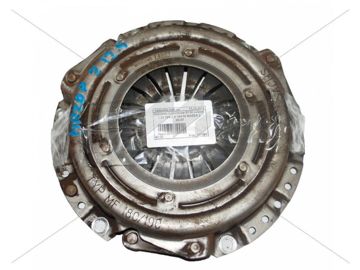 Корзина сцепления 1.25 для Mazda 2 2002-2007 2S617S63BD