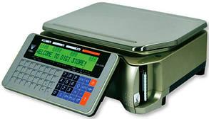 Весы DIGI SM-5100 B с печатью этикеткок
