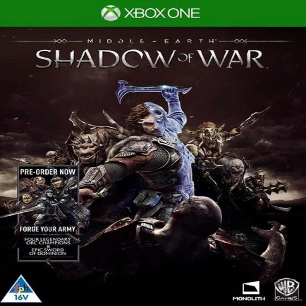 Middle-Earth:Shadow of War RUS Xbox One (Б/В)