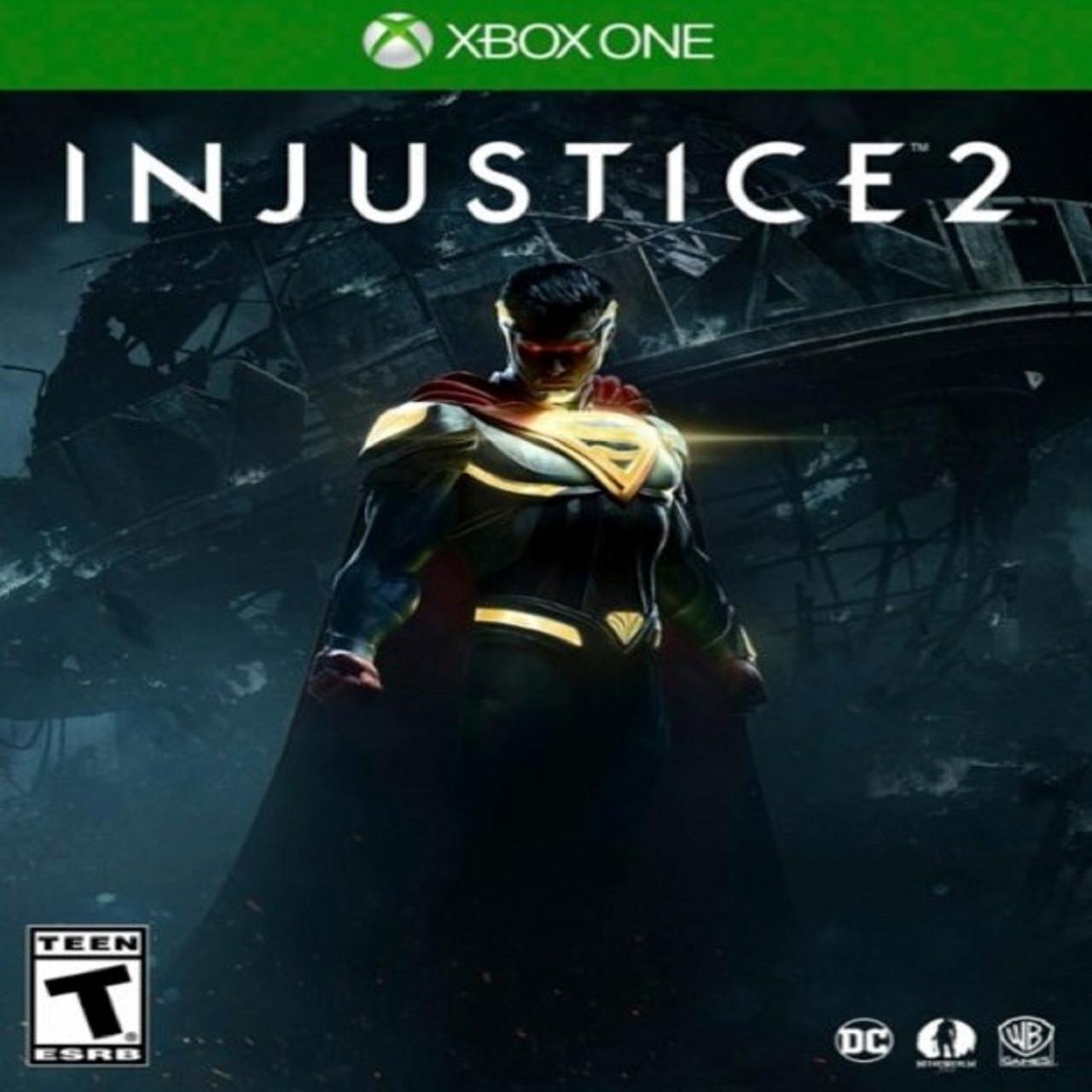 Injustice 2 (русские субтитры) XBOX ONE (Б/У)