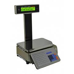 Весы торговые DIGI SM5100 Р с печатью этикетки