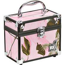 Коробка Plano RTG Caboodle, для принад., с алюм.накладками, розовый камуф.