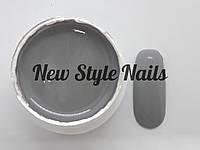 Гель-краска для ногтей UK.Nail №16 цвет серый ,7 грамм