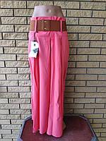 Юбка-брюки женская летняя коттоновая стрейчевая JING