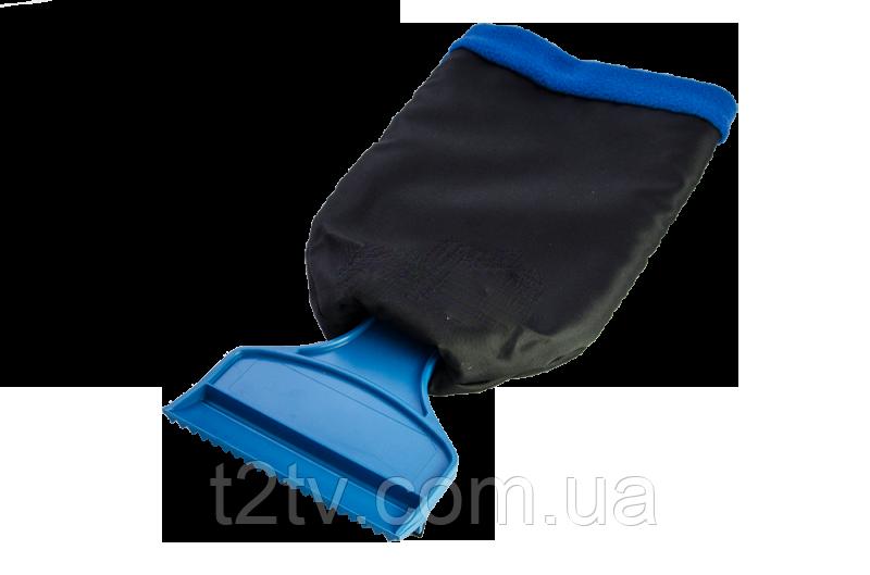 Скребок для льда Т-образный с рукавичкой
