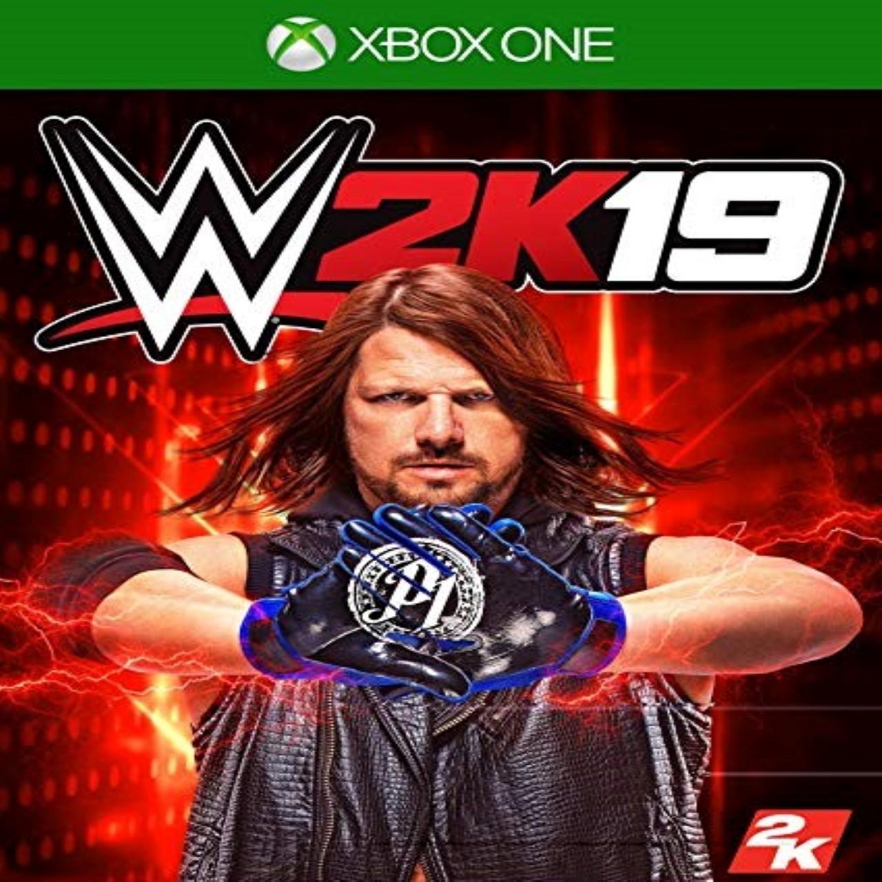 WWE 2K19 (англійська версія) XBOX ONE (Б/В)