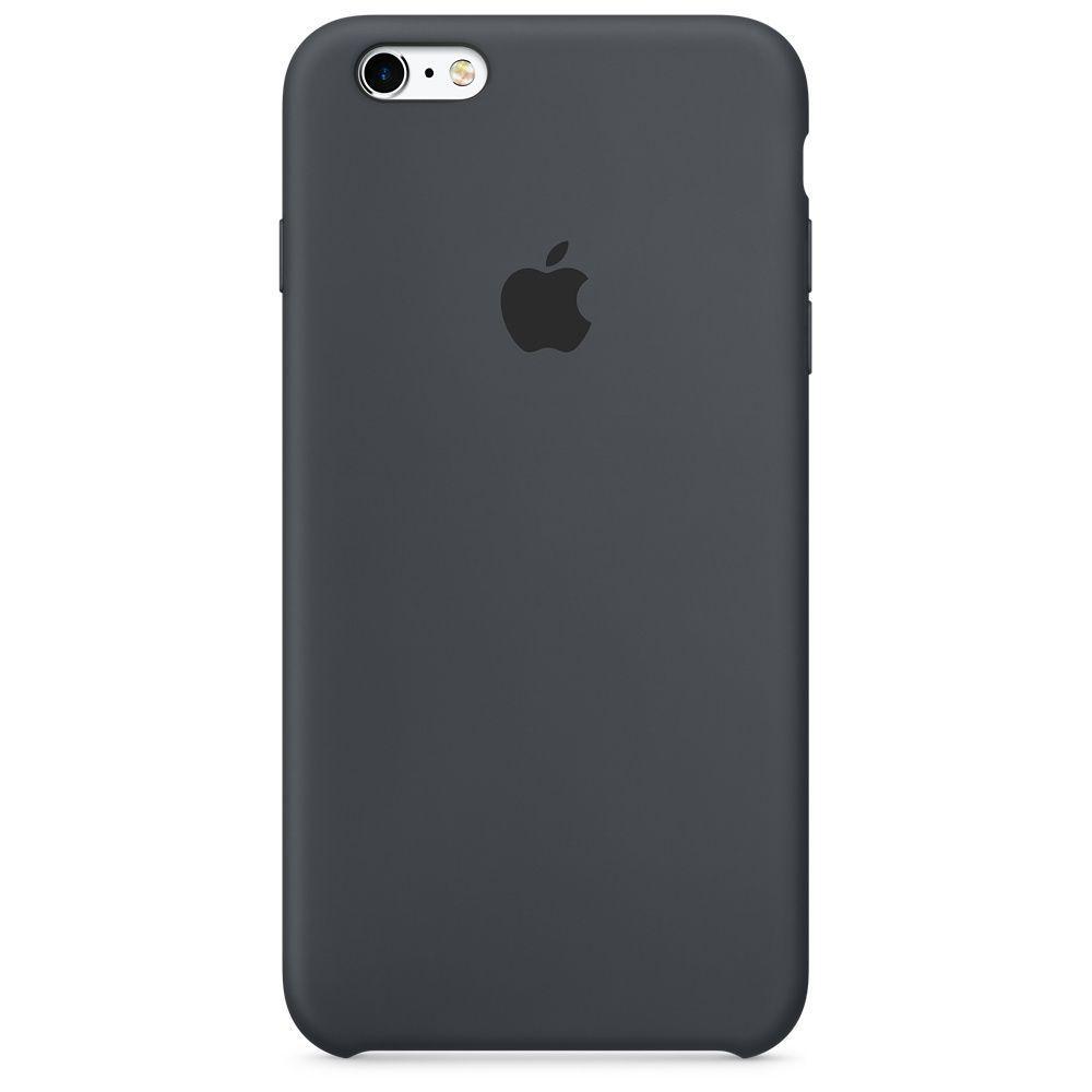 Чехол Silicone Case Apple iPhone 6s (Charcoal Gray)