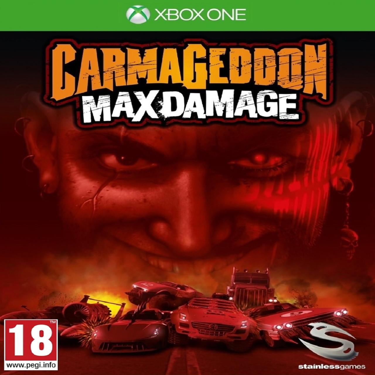 Carmageddon: Max Damage RUS XBOX ONE (NEW)