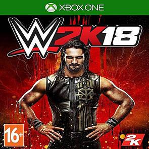 WWE 2K18 (англійська версія) XBOX ONE (Б/В)