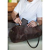 Дорожная сумка из кожи. Комфорт и надежность