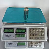 Весы торговые электронные на батарейках Олимп 829 (40 кг)