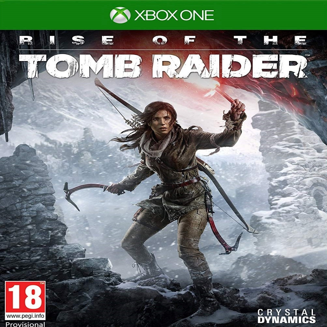 Rise of the Tomb Raider RUS XBOX ONE  (Б/В)