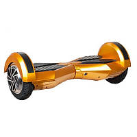 "Гироборд Smart Balance Wheel 8.0"" (Cамобаланс, Led, Bluetooth, сумка) Золото"